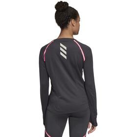 adidas Reflective Maglietta A Maniche Lunghe Donna, black
